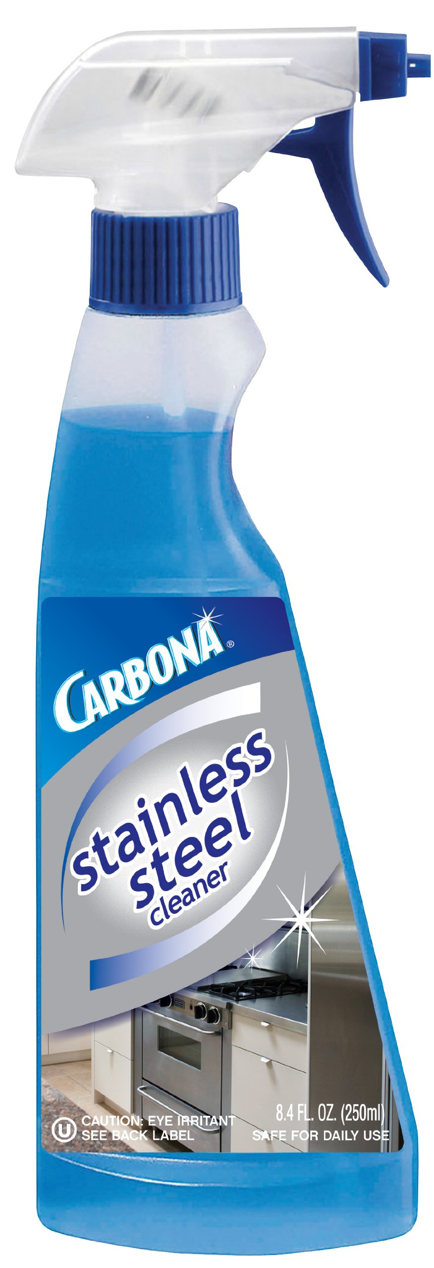 Carbona Clean It! Stainless Steel Cleaner, 8.4-Ounce Bottle (Pack of 6) by Carbona