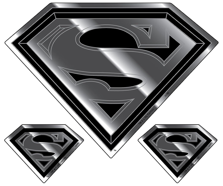 Chroma Graphics 3016 Classic Emblemz 3 piece Superman Decal