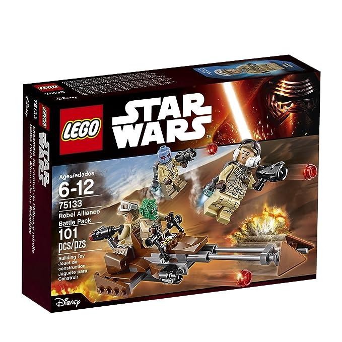 Amazon Lego Star Wars Rebel Alliance Battle Pack 75133 Toys