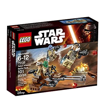 Lego Star Wars 75133 Rebel Alliance Battle Pack: Amazon.co.uk ...