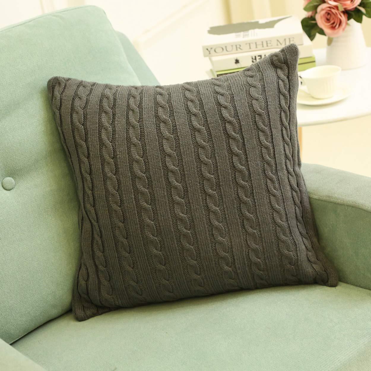 Amazon.com: Cool nik - Funda de cojín cuadrada de algodón ...