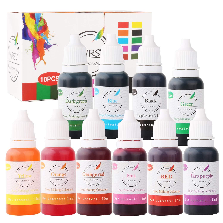 Soap Dye/Soap Melt Dye/Slime Coloring/Pour Making Bath Bomb Bath ...