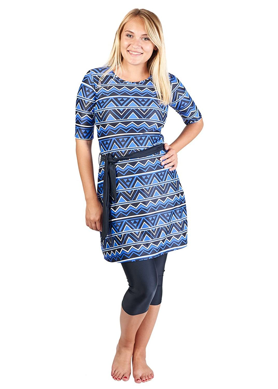 9bf42c2e89ba7 STYLISH AND MODEST - bright, patterned modest swimwear you will be excited  to wear!