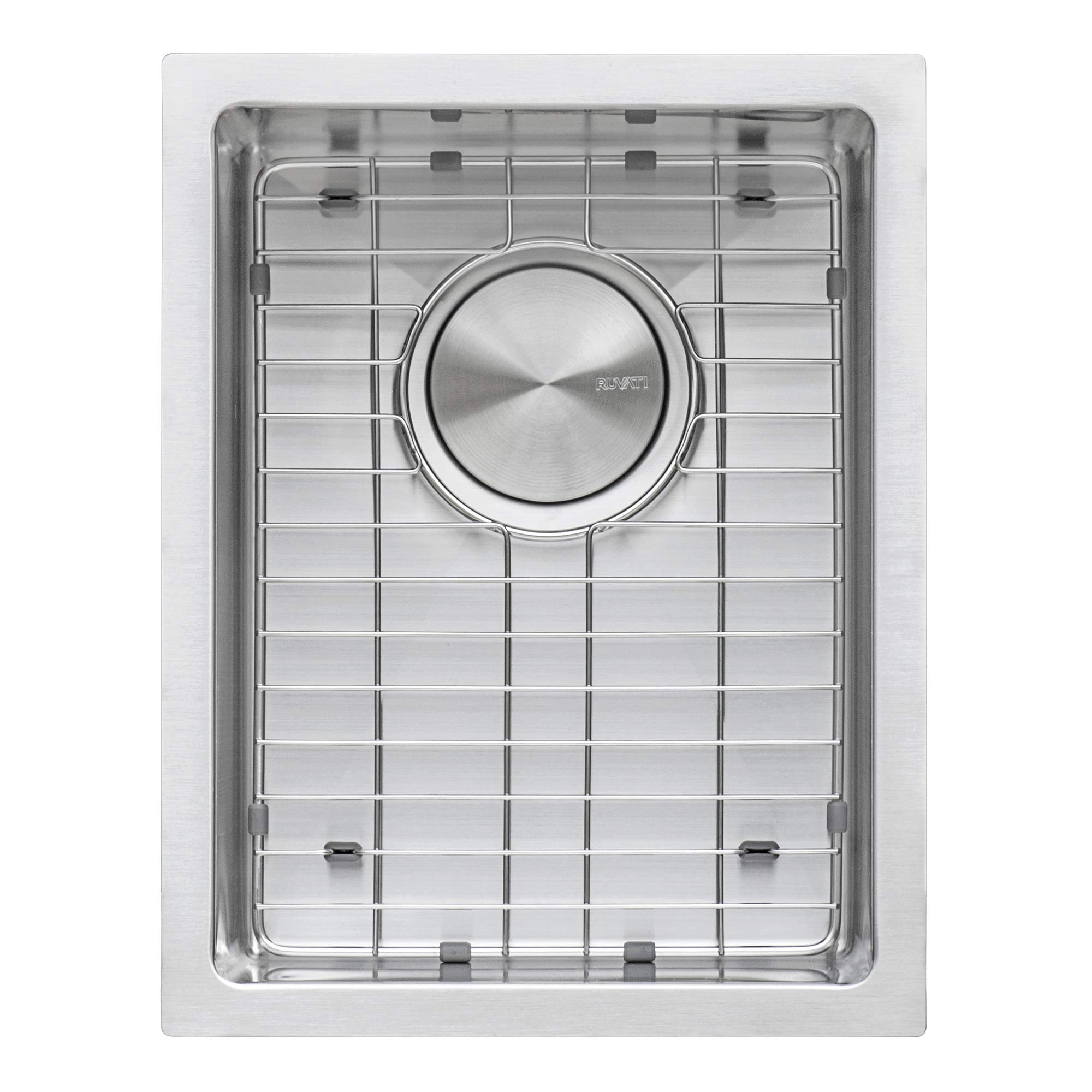 Ruvati 14-inch Undermount Wet Bar Prep Sink Tight Radius 16 Gauge Stainless Steel Single Bowl - RVH7114 by Ruvati (Image #3)