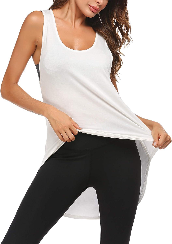 Yoga Sport ADOME Canotta Sportiva da Donna Running Corsa per Yoga Allenamento Fitness