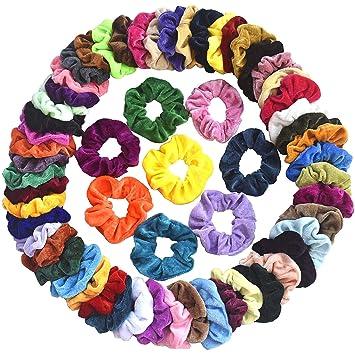 Women Girls Hair Scrunchies Velvet Elastic Hair Bands Scrunchy Hair Ties Rope