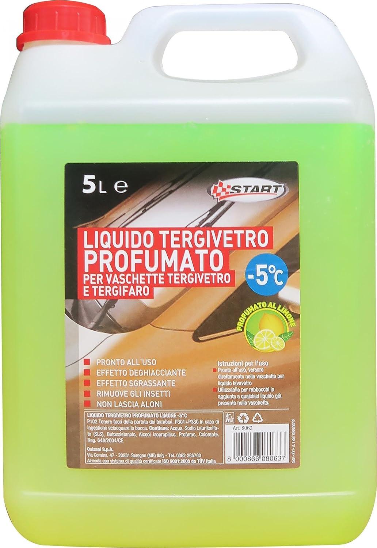 START lí quido limpiaparabrisas limó n perfumado de inicio -5 5El Mantenimiento del automó vil