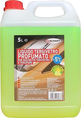 START líquido limpiaparabrisas limón perfumado de inicio -5 5El Mantenimiento del automóvil: Amazon.es: Coche y moto