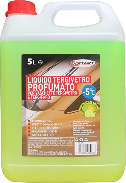 START líquido limpiaparabrisas limón perfumado de inicio -5 5El Mantenimiento del automóvil