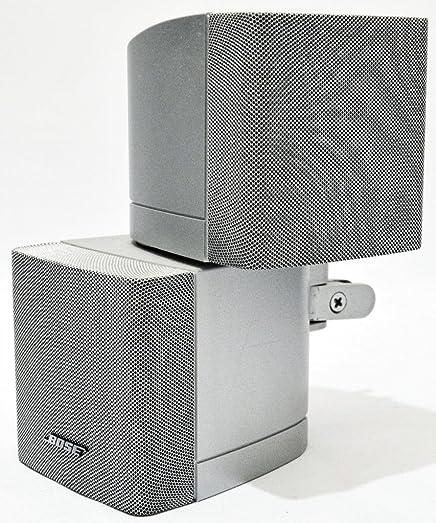 BOSE Speaker Acoustimass Double Cube Silver 10piece Speaker Wire