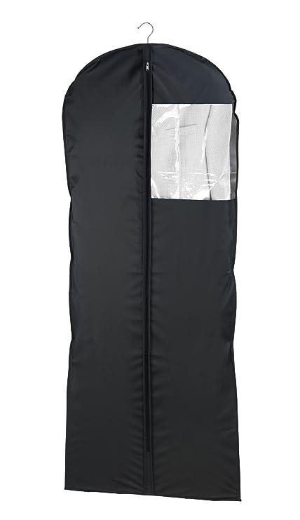 Wenko Deep Black - Bolsa protectora para ropa, de película de plástico, 60 x
