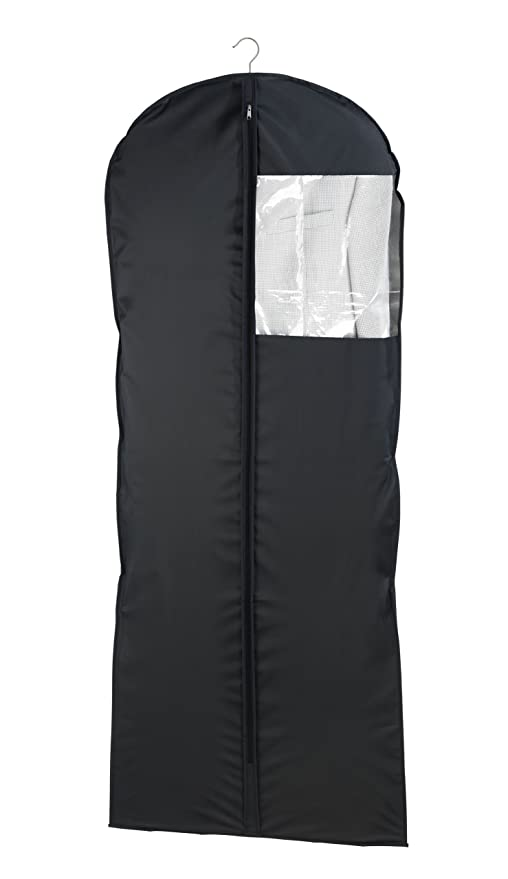 Wenko 43821040100 Kleidersack Deep Black, Kleiderhülle, Polyethylen-Vinylacetat, 60 x 150 cm, schwarz