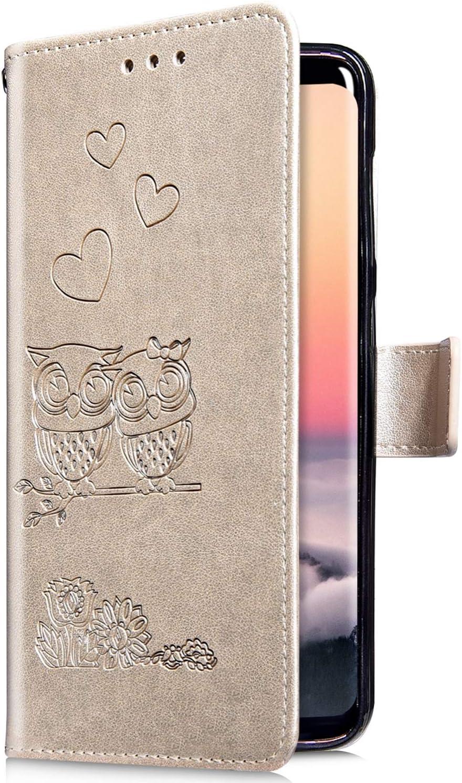 Uposao Galaxy A5 2016 Coque,Housse en Cuir Pochette Portefeuille ...