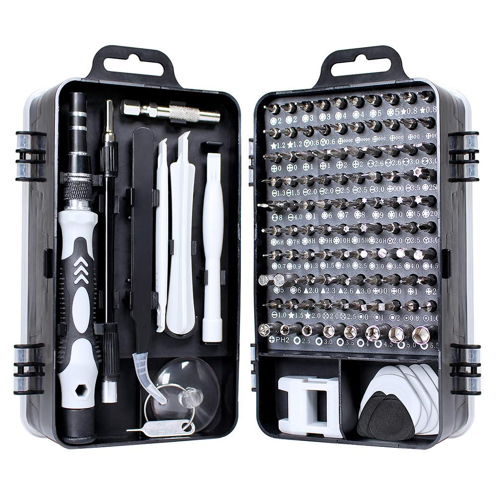 115 PIECE WHITE MINI TOOL SET