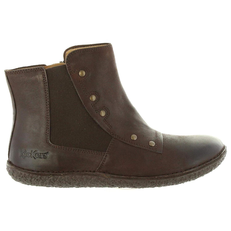 Kickers Stiefel für Damen 576061-50 HAPPLI 92 braun