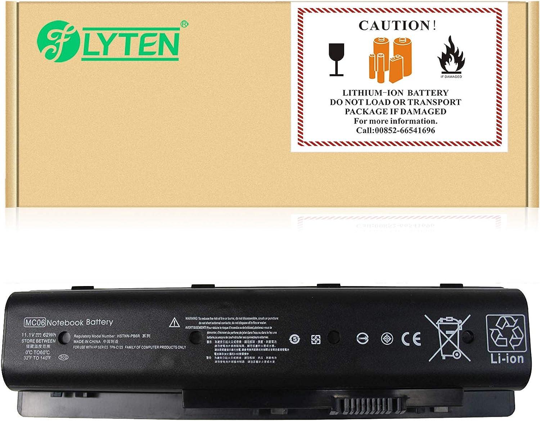 FLYTEN 62WH MC06 Laptop Battery for HP Envy M7-n100 M7-n011dx M7-n014dx M7-n101dx M7-n109dx 15-ae100 17-n000 17-r000 Series;Compatible P/N:MC04 HSTNN-PB6R TPN-C123 804073-851 805095-001