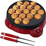 Health and Home Electric Takoyaki Maker With Free Takoyaki Tools - Specialty & Novelty Cake Pans for Takoyaki Octopus…