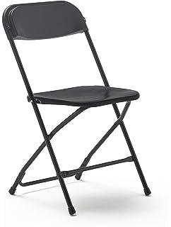 Ikea Gunde - Silla plegable, color negro: Amazon.es: Jardín