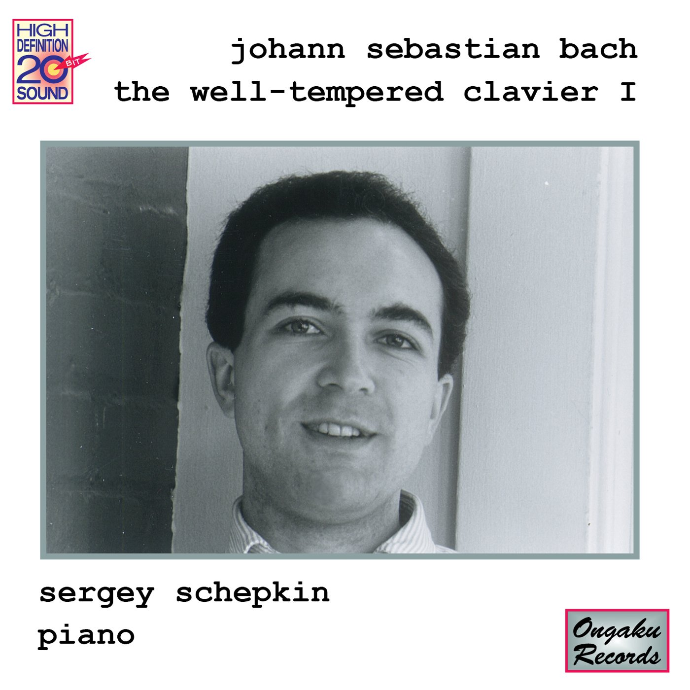 Bach: Opening large release shipfree sale The Well-Tempered I Book Clavier