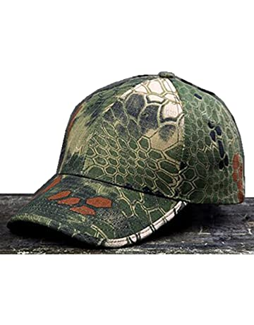 8936aa20 NoGa Python Camouflage Hat Simplicity Outdoor Sun Hat Army Hat Woodland Camo  Outdoor Tactical Cap for