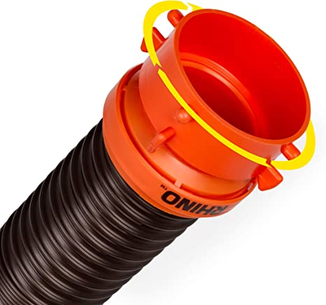 Amazon Com Camco Rhinoflex Heavy Duty 10ft Rv Sewer Hose Extension Kit With Swivel Fitting Extends Your Sewer Hose To Fit Your Needs 39764 Automotive