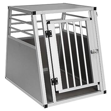 E-starain Alu Hundetransportbox Autotransportbox Kofferraumbox Gitterbox Verschiedene Gr/ö/ße
