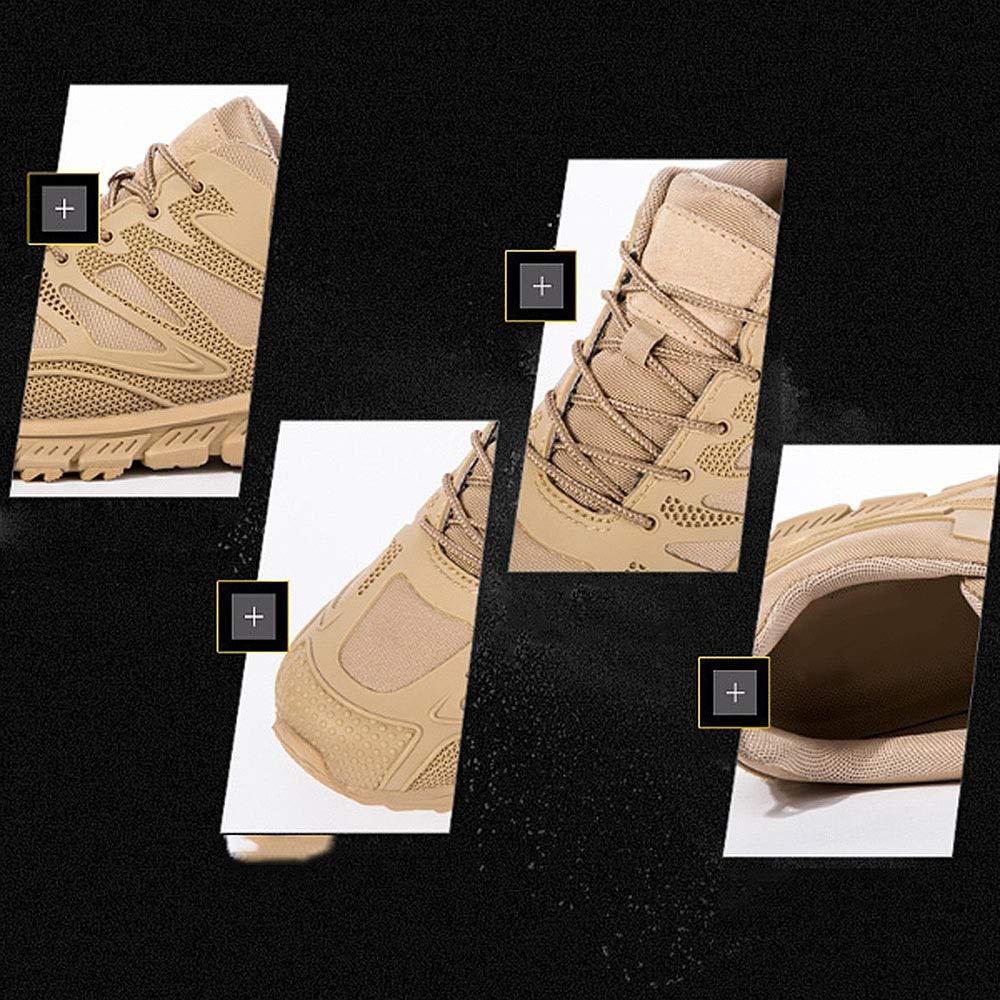 QIKAI QIKAI QIKAI Taktische Stiefel Wasserdicht Spezielle Lederstiefel Aus Leder Leichte Tragbare Atmungsaktive Militärstiefel Bergschuhe Im Freien c7faa4