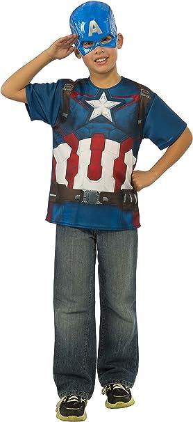 Kit disfraz Capitán América Vengadores: La Era de Ultrón para niño ...