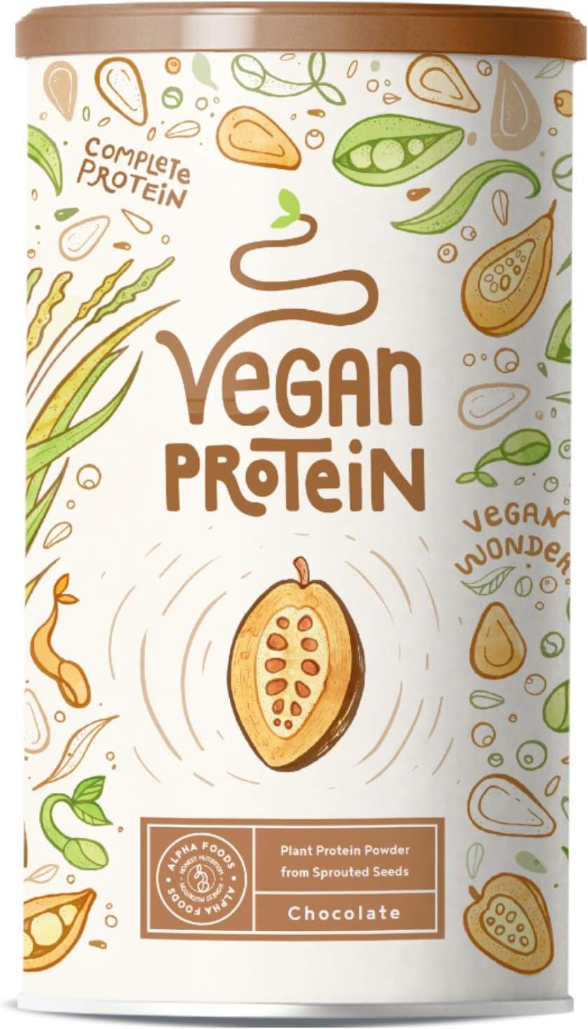 Proteina Vegana | CHOCOLATE | Proteína vegetal de soja, arroz ...