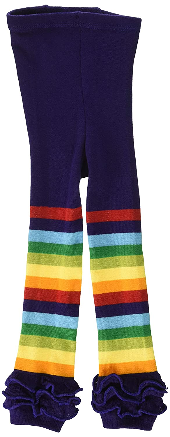 Wrapables Rainbow Ruffle Toddler Leggings - Red 105cm