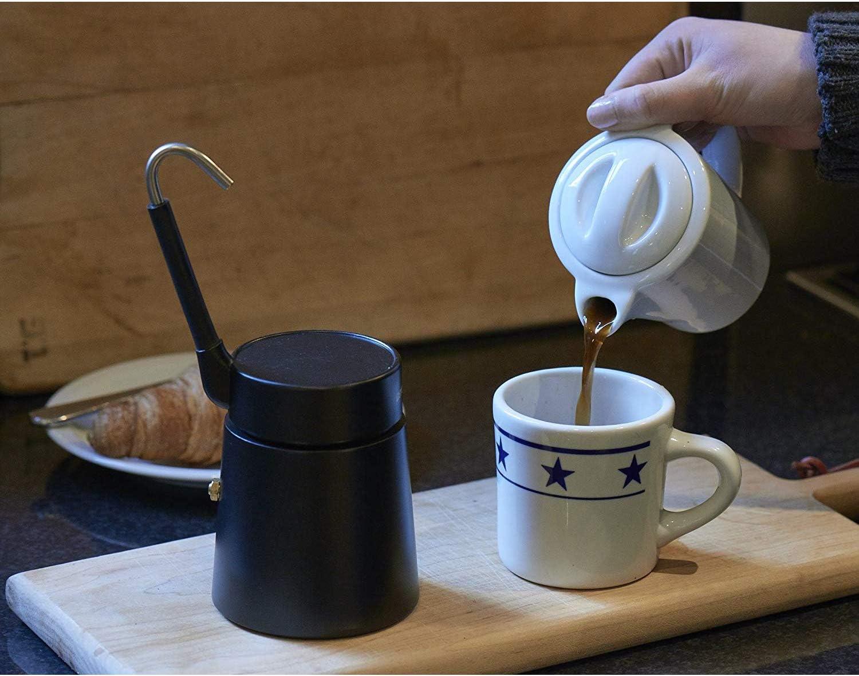 Aerolatte - Calentador de Jarra de café de Porcelana, Color Negro ...