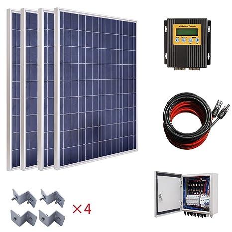 Sistema de parrilla de apagado de paneles solares de 400 W ...