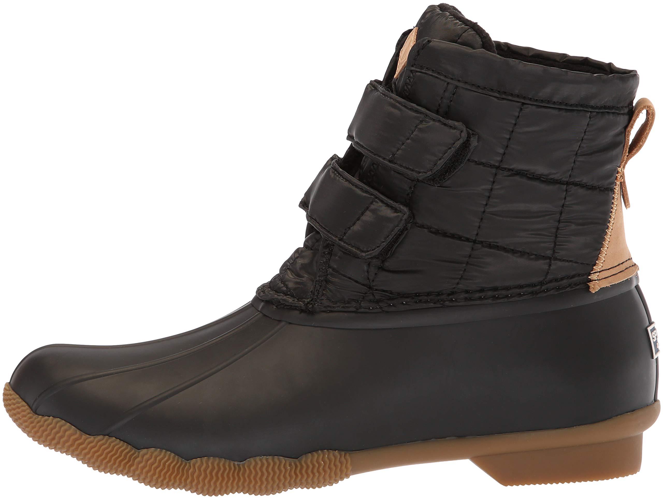 Saltwater Jetty Snow Boot, Black