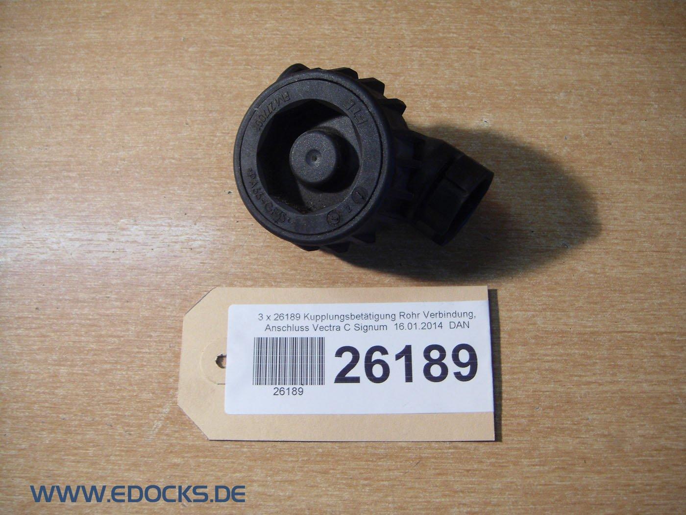 Acoplamiento pulsador Tubo Conexión Conector Vectra C Signum Opel: Amazon.es: Coche y moto