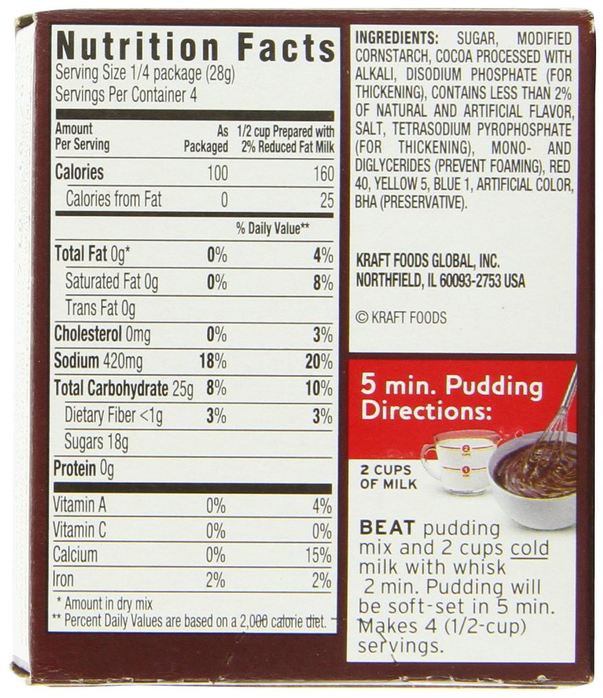 recipe: instant pudding mix directions [1]