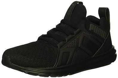 4f5f6855fa2 PUMA Unisex Enzo Sneaker Black, 1 M US Little Kid