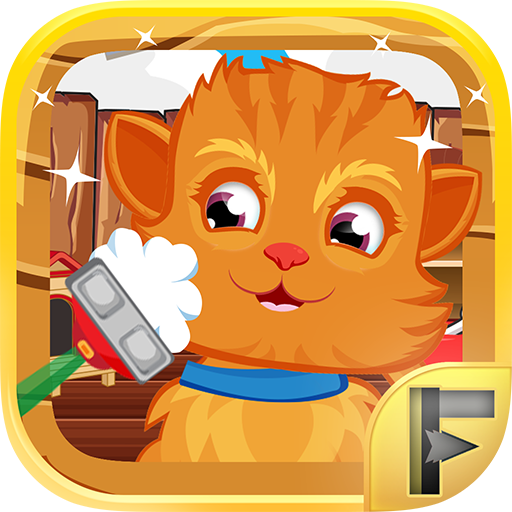 Free Grooming (Pet Shavers Animal Shave Shop & Grooming Salon Spa - Free Games For Kids)