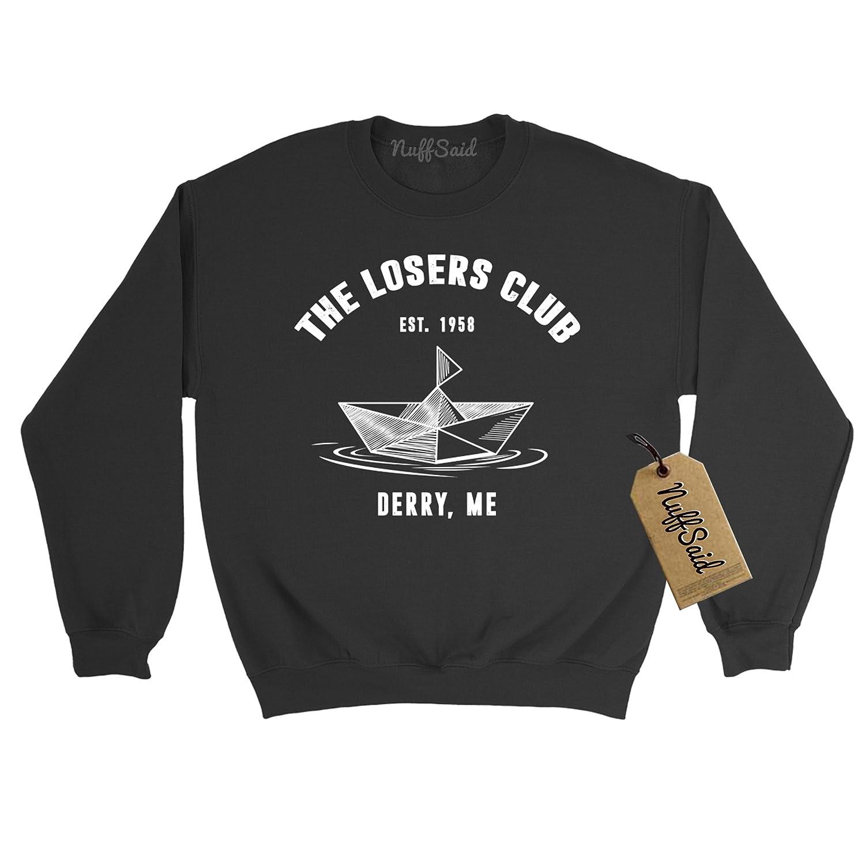 NuffSaid Losers Club Boat Crewneck Sweatshirt Sweater Pullover Georgie Unisex