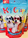 K9 Crisps Chicken Dog Chips | Treats Made in USA 100% Finest Tenderloin | USA Sourced Chicken