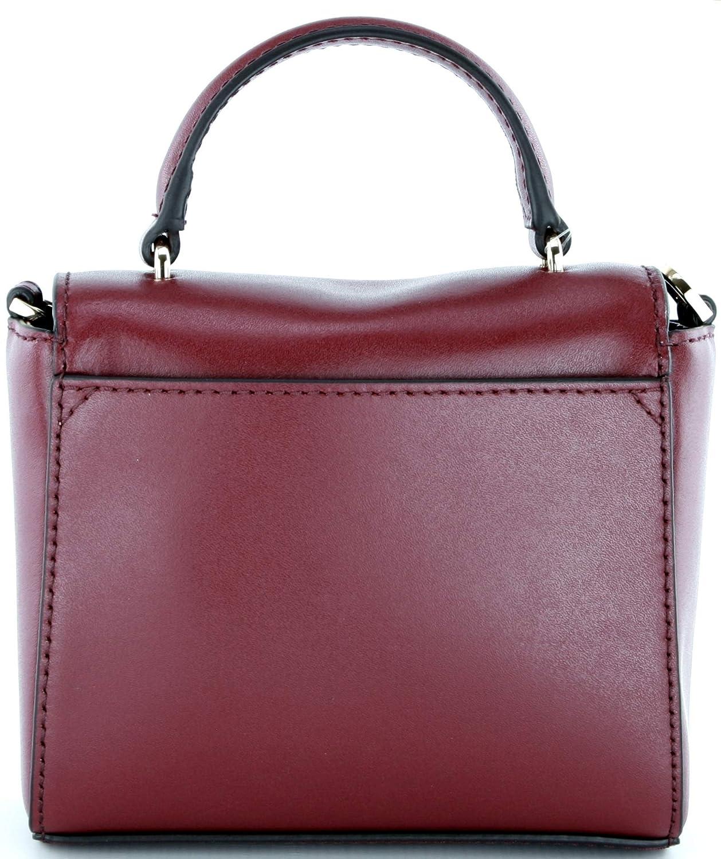8fe54020685f Michael Kors Mindy Leather Crossbody Bag Small Handbag Mulberry Red RRP £210  (Small