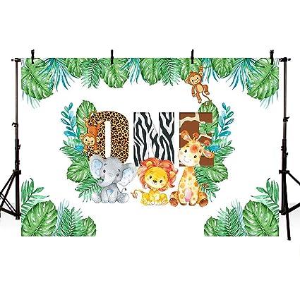 MEHOFOTO Safari Boy 1er cumpleaños Fiesta telón de Fondo ...
