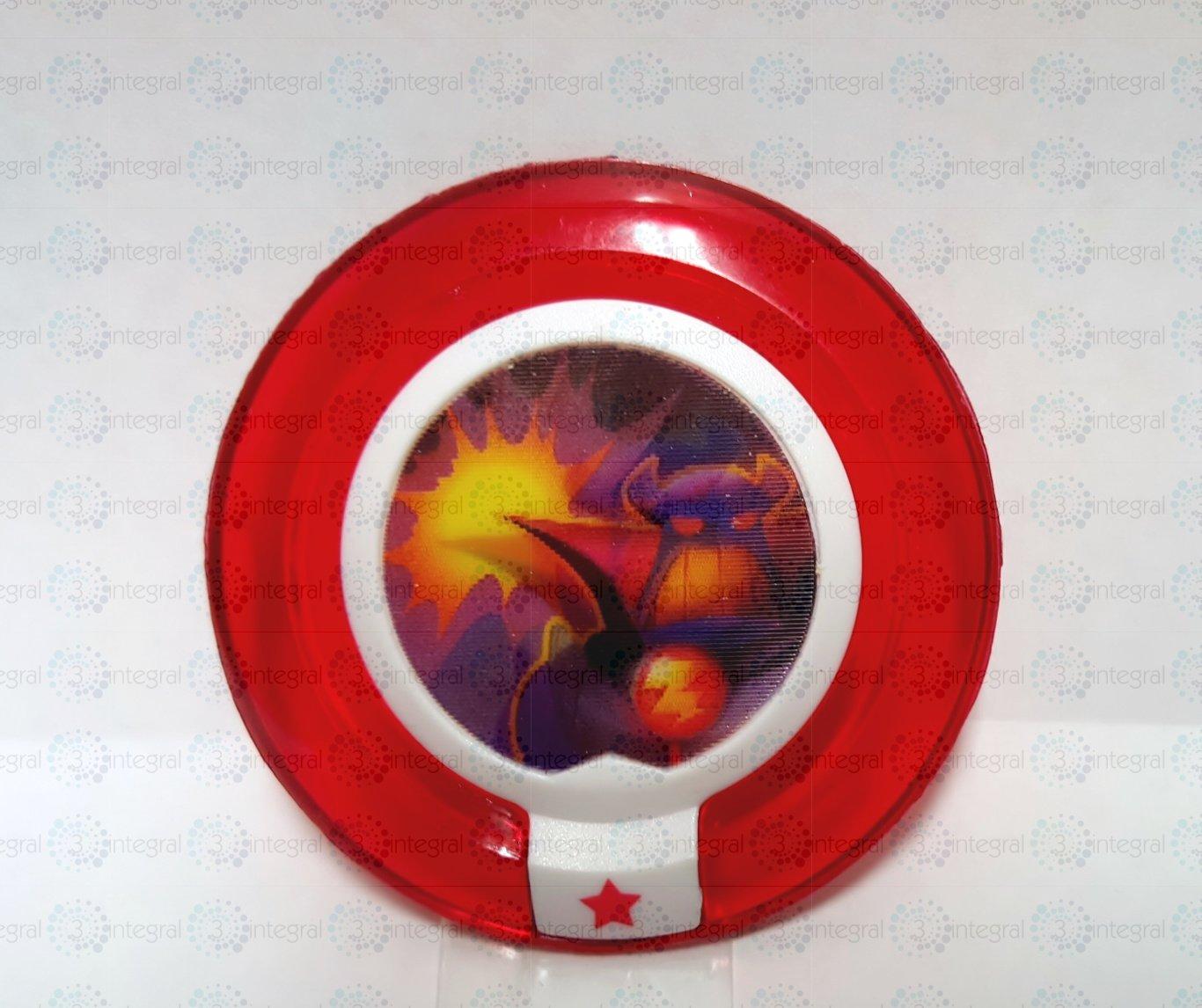 디즈니 인피니티 파워 디스크 황제 주르그의 분노 결투 이미지 1.0 에디션