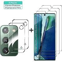 GESMA for Samsung Galaxy Note 20 Screen Protector and Camera Protector, [3 Screen Protectors+2 Camera Protectors…