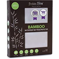 Bubba Blue Bamboo Cradle Waterproof Mattress Protector Pad Bedding Cover Machine Washable Hygienic