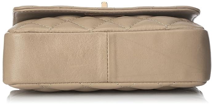 348986a7e5 Chicca Borse 1073 Pochette da Giorno, 19 cm, Beige: Amazon.it: Scarpe e  borse