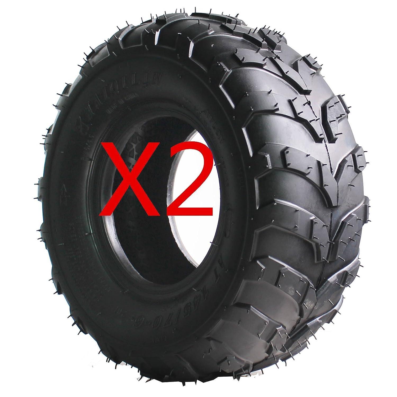 AR DONGFANG Pair of ATV Tires 145/70-6 145x70-6 Quad Tire UTV Go Kart Tires ATV Tire 4PR Tubeless MOTOR HQ