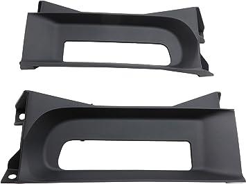 FRONT BUMPER BLACK FACE BAR FILLER PANEL W//O HOLE For 2013-2017 DODGE RAM 1500