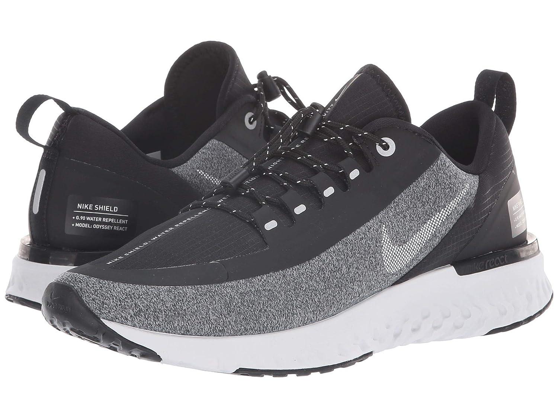 [ナイキ] レディーステニスシューズスニーカー靴 Silver/Cool Odyssey React Shield Black/Metallic [並行輸入品] B07JVKRXLD 25.5 cm B Black/Metallic Silver/Cool Grey B07JVKRXLD, 平戸市:be7707d0 --- cgt-tbc.fr