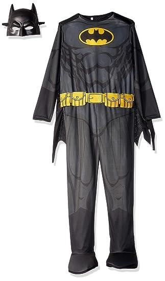 Rubies Costume 630856-M Boys Dc Comics Batman Costume, Medium, Multicolor