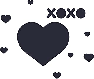 product image for WallCandy Arts Chalkboard Wall Decal, Heart Wall Stickers